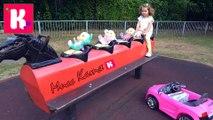 Сrying Babies 4 детей Рутина маленького блогера Катя Мама Outdoor Playground Family Fun Kid tantrum новое видео кейти