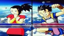 Dragon Ball Z Budokai Tenkaichi 3 Kale SSJ Legendaria Vs Kyabe,Gohan Místico,Majin Buu Ski