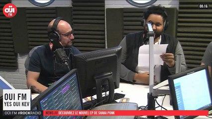 La radio OUI FM en direct vidéo /// La radio s'écoute aussi avec les yeux (3310)