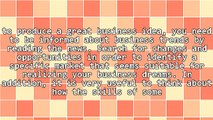 Growing Your Dream Business: From Ideas to Actions