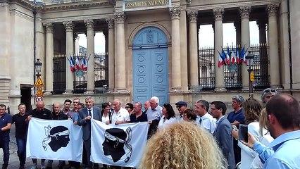 VIDEO. Assemblée Nationale : les nationalistes investissent la capitale