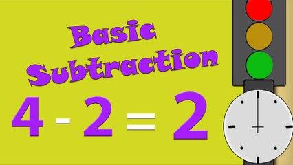 Basic Subtraction for Kids | Basic Math For Kids - Subtraction | Learning Subtraction For Kids