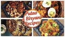 Biryani And Pulao Recipes | Ramadan Recipes | Ramzan Special Recipes | Biryani Recipe | Pulao Recipe