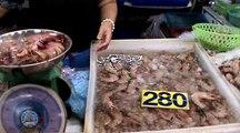 poissons et crustacés de thailande