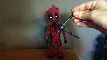 Baby Groot Deadpool