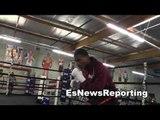 thomas dulorme working out at robert garcia boxing academy EsNews Boxing