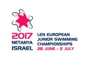 European Junior Swimming Championships - Netanya 2017