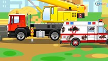 The Truck and Trucks & Cars in the City | Kids Animation Chi Chi Puh Cartoons fo