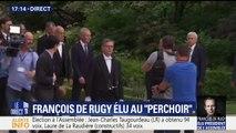"""François de Rugy élu au """"perchoir"""", Claude Bartolone passe le relais"""