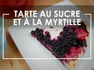 Tarte au sucre à la myrtille - Click n' Cook