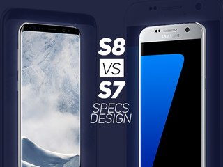GALAXY S8 vs S7 : Comparatif spécifications et design - W38
