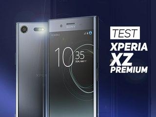 TEST : Sony Xperia XZ Premium - W38