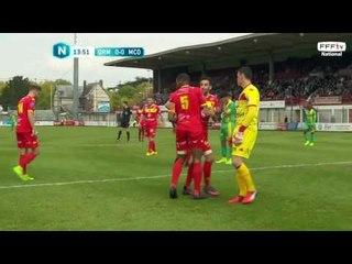 Résumé du match Quevilly-Rouen Métropole 0-2 Consolat Marseille (J31 - National)