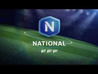 Les meilleurs buts de la 31ème journée de National