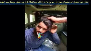Indian army showing cheapness by forced Kashmiri to say Pakistan murdabad India zindabad