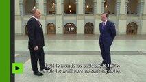 [Actualité] Vladimir Poutine lève le voile sur son passé d'espion «illégal» au service de l'URSS