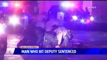 Ex-Marine Sentenced For Biting Deputy