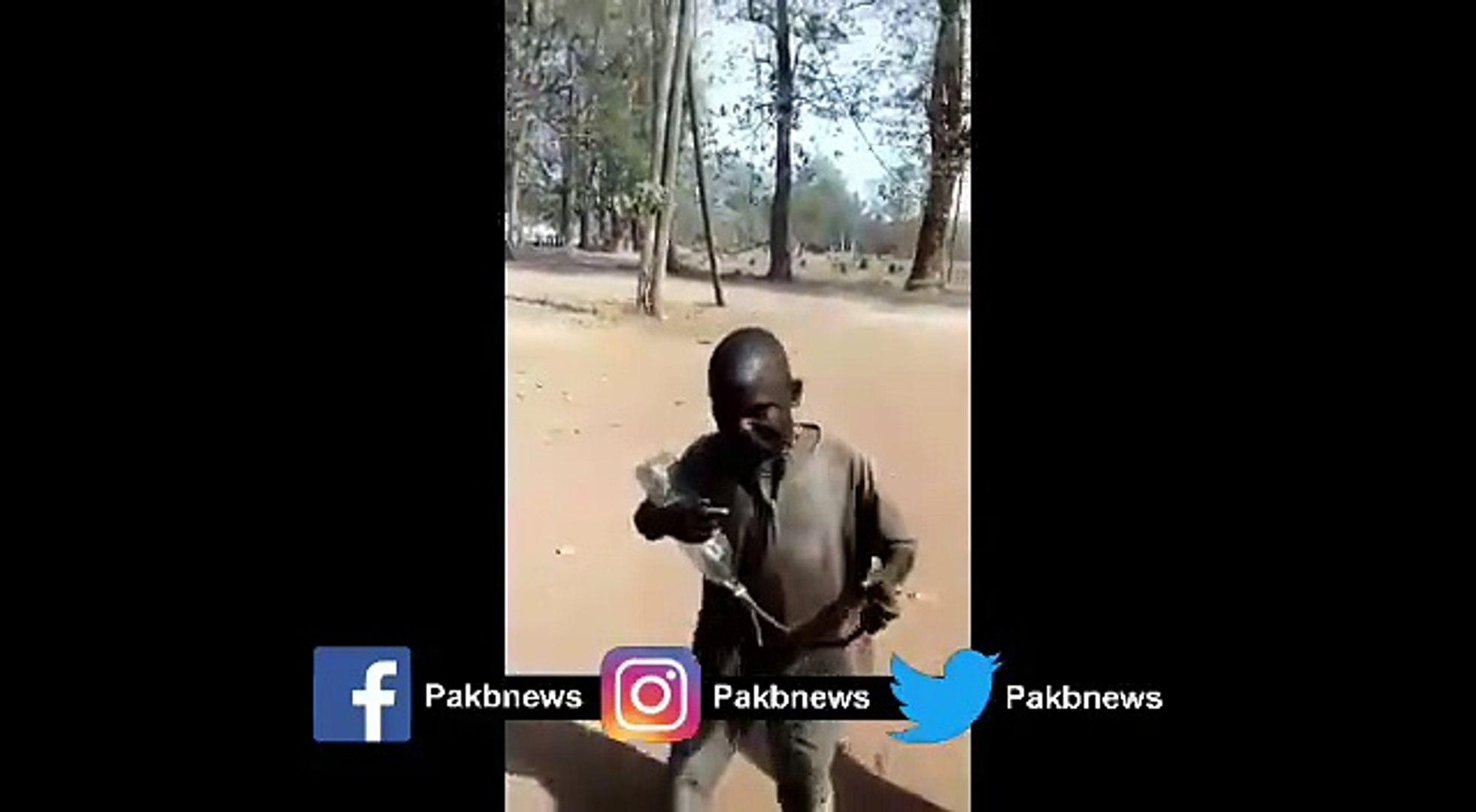 See African People Enjoy Pakistan Song