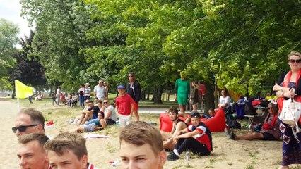 Encore une belle journée de beach soccer pour les jeunes de l'USM