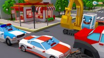 Little Heroes Car Cops to the Rescue ! POLICE CAR CARTOON |KID COPS VIDEO FOR KIDS | POLICE FOR KIDS