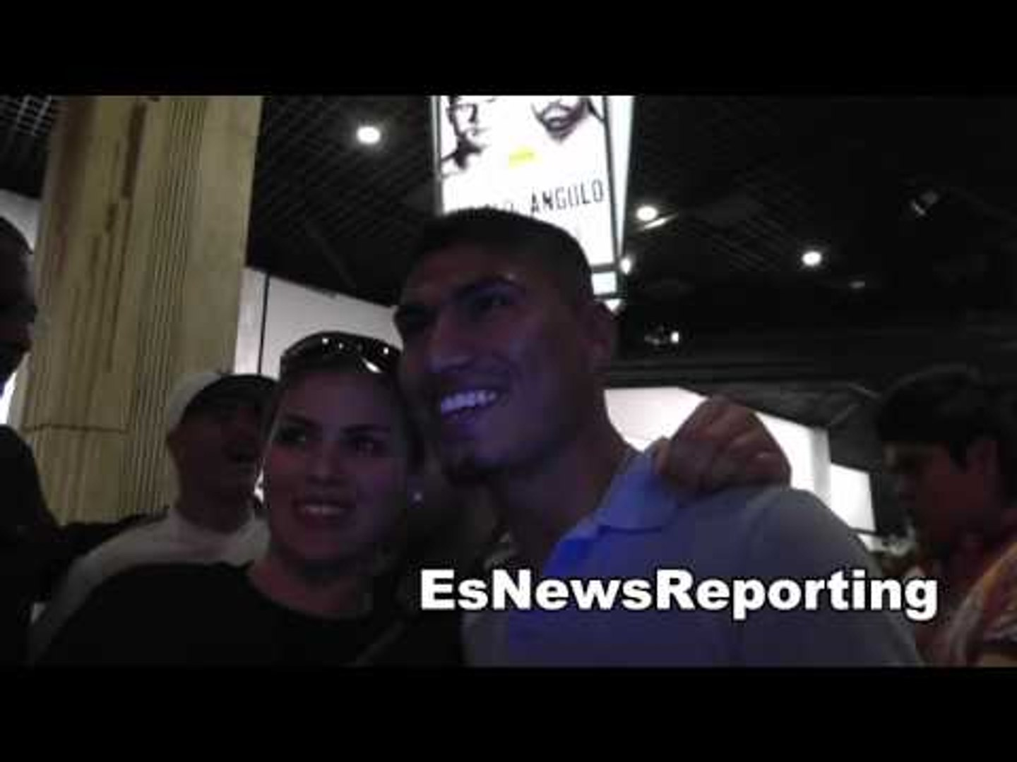 brandon rios and mikey garcia like rock stars in vegas very popular EsNews Boxing