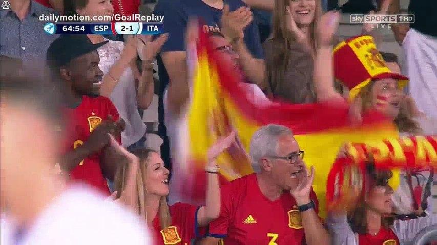 Saul Niguez second Goal HD - Spain U21 2 - 1 Italy U21 - 27.06.2017 (Full Replay)