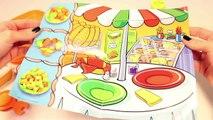 Les créations chien pâte aliments chaud lheure du déjeuner jouer pâte à modeler