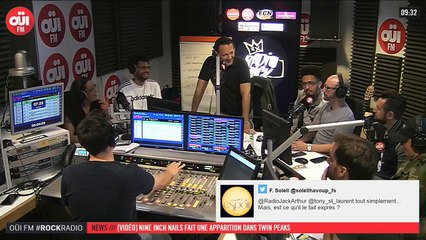 La radio OUI FM en direct vidéo /// La radio s'écoute aussi avec les yeux (3328)