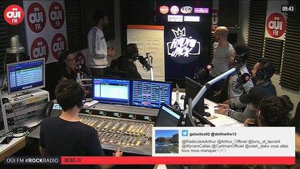 La radio OUI FM en direct vidéo /// La radio s'écoute aussi avec les yeux (3329)
