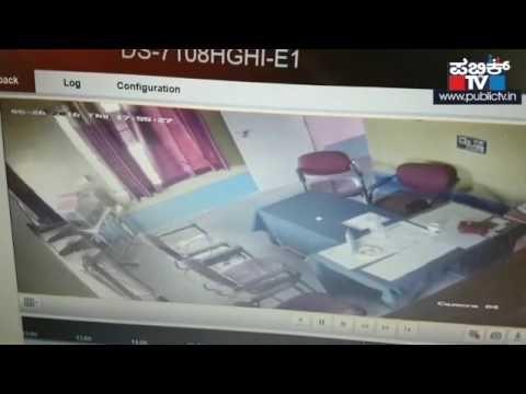 JDS leader's rape attempt caught on CCTV camera in Karnataka