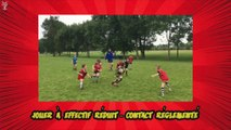 Séance-type École de rugby