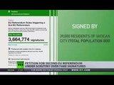 Petition for second EU referendum under scrutiny over fake signatures