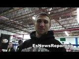 Vasyl Lomachenko vs orlando salido Lomachenko in training camp EsNews Boxing