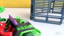 Aventures escroquerie avec héros ponton homme araignée venin et Super combat 2