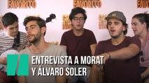 Entrevista a Morat y Álvaro Soler por la música de Gru 3