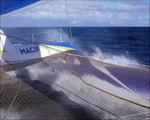 A bord de MACIF avec IDEC Sport en vue !