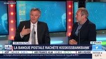 Réaction du PDG de La Banque Postale suite au rachat de KissKissBankBank #TechCo