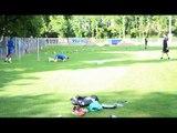 Reprise de l'entraînement au Racing Club de Strasbourg Alsace