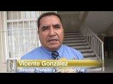 Vicente Gonzáles, Director de Transito Municipal da las nuevas vías alternas.