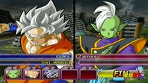 Goku FNF SSJ White VS Merged Zamasu (All Forms) | DBZ Budokai Tenkaichi 3 Version Latino M