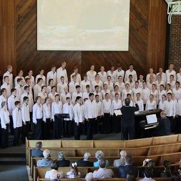 Lindenkoor performing Jerusalem, Stephen Adams Johannesburg, 23 April 2017 NG Kerk Randbur