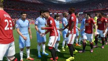 FIFA 17 - Manchester United Vs Manchester City - NO SPOILERS