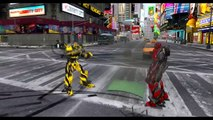 OPTIMUS PRIME & BUMBLEBEE & DRIFT VS LOCKDOWN & STINGER - EPIC BATTLE (TRANSFORMERS DEATHM