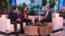 13 Reasons Why Stars Katherine Langford and Dylan Minnettes Talk Show Debut On Ellen