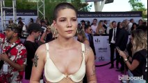 Halsey on Her First Solo Performance at an Awards Show  Billboard Music Awards 2017