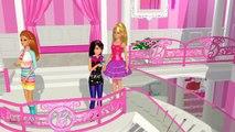 Robe Jeu Il fête vers le haut en haut procédure pas à pas Mini-jeu barbie dreamhouse