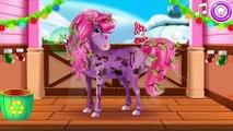Petit poney soins enfants des jeux poney sœurs cheveux faire vers le haut vidéo par