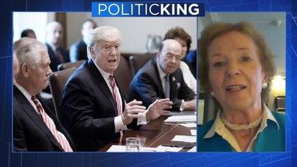 Former Irish president Mary Robinson talks Brexit, Macron and Donald Trump