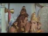 Mushikasura Stops Lord Shiva When Telling Brahmopadesam To Vinayaka - Sri Vinayaka Vijayam Scenes