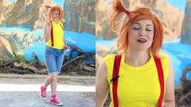 How To Make Ash, Misty, And Brock Pokemon Costumes! POKÉMON GO Real Life Pikachu Egg Surpr